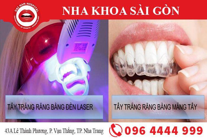 Phương pháp tẩy trăng răng hiệu quả